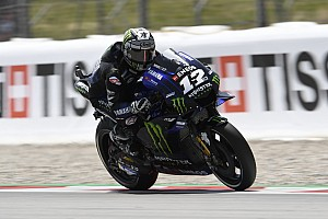 Vinales demoted from front row for impeding Quartararo