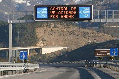 ¿A qué velocidad multan los radares de la DGT, en 2020?