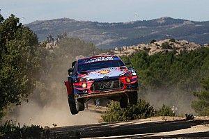 Dublet Hyundaia w Rajdzie Sardynii