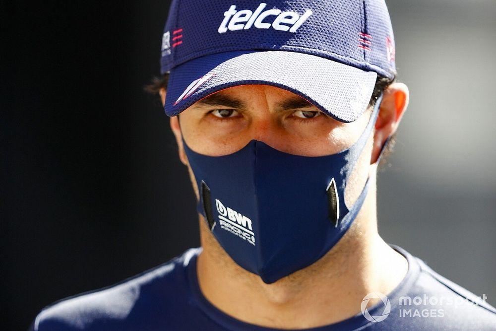 """""""Checo"""" Pérez anuncia su salida de Racing Point en la F1"""