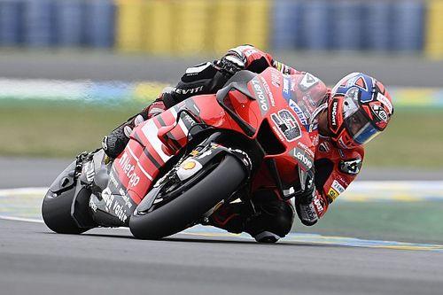 MotoGP: Petrucci vence caótico GP da França em Le Mans; Márquez sobe 16 posições e é segundo