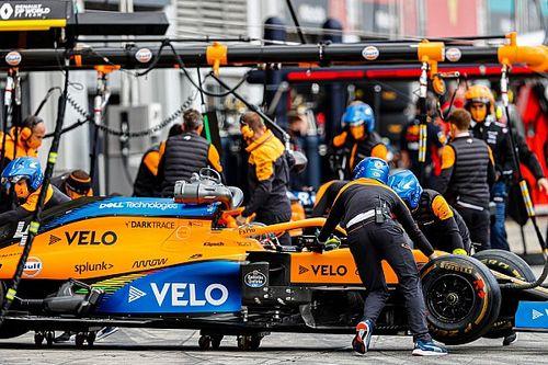 McLaren F1 afina aún más su protocolo anti COVID-19