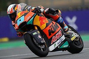 Moto2, Le Mans, Libere 2: Martin vola, paura per Marini