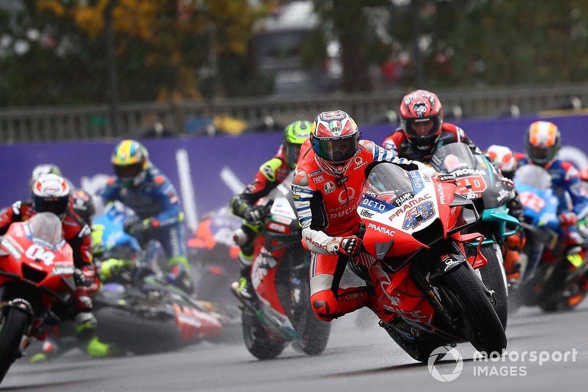 Miller kampte al in warm-up van Franse GP met motorprobleem