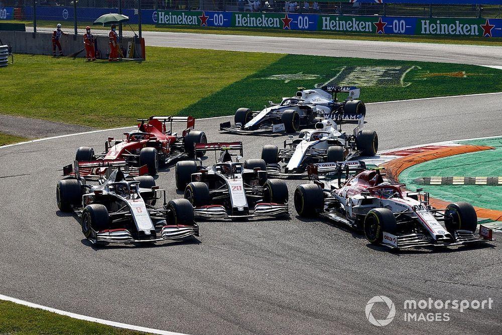Giovinazzi explains reason behind rapid race starts