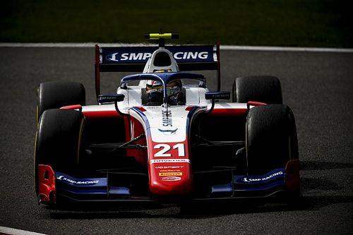 Spa F2: Shwartzman wins sprint race as Ilott retires