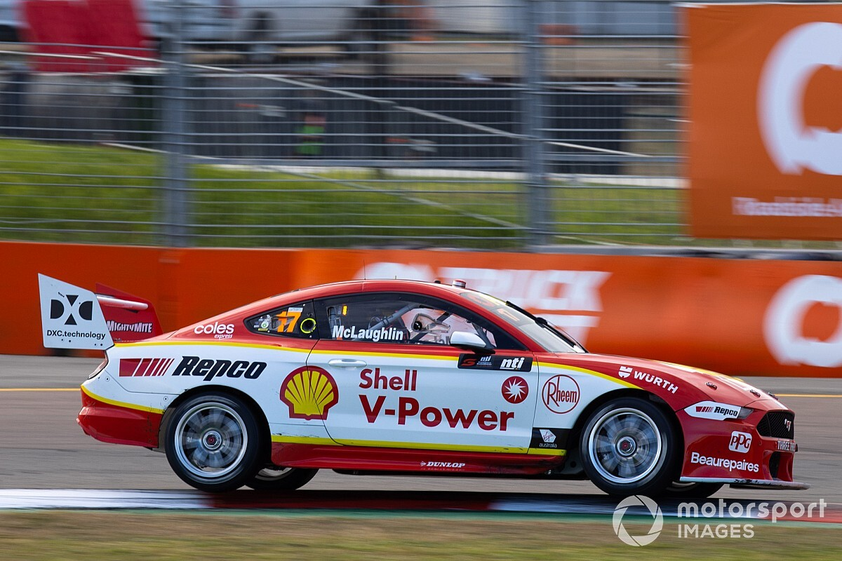 Townsville Supercars: McLaughlin scorches to Saturday pole
