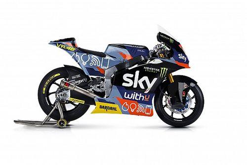 """Sky Racing Team VR46 a """"casa"""" con una livrea speciale"""