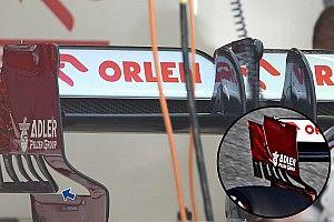 Alfa Romeo: cambiate le frange della paratia laterale
