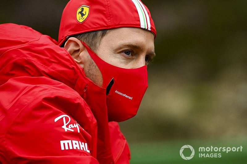 """Vettel """"at peace"""" with himself over Ferrari F1 exit"""