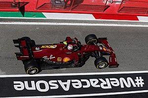 Leclerc: el quinto lugar excede las expectativas de Ferrari