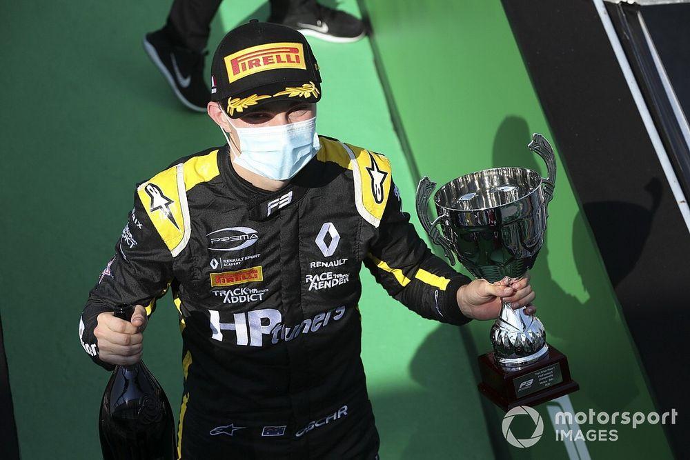 Prema signs F3 champion Piastri for 2021 F2 season