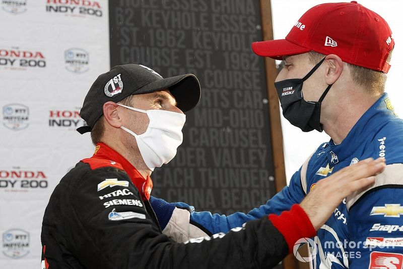 Power would give up win to help Newgarden beat Dixon to title