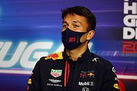F1: Albon insiste que não há pressão extra apesar de rumores de Hulk e Pérez na Red Bull