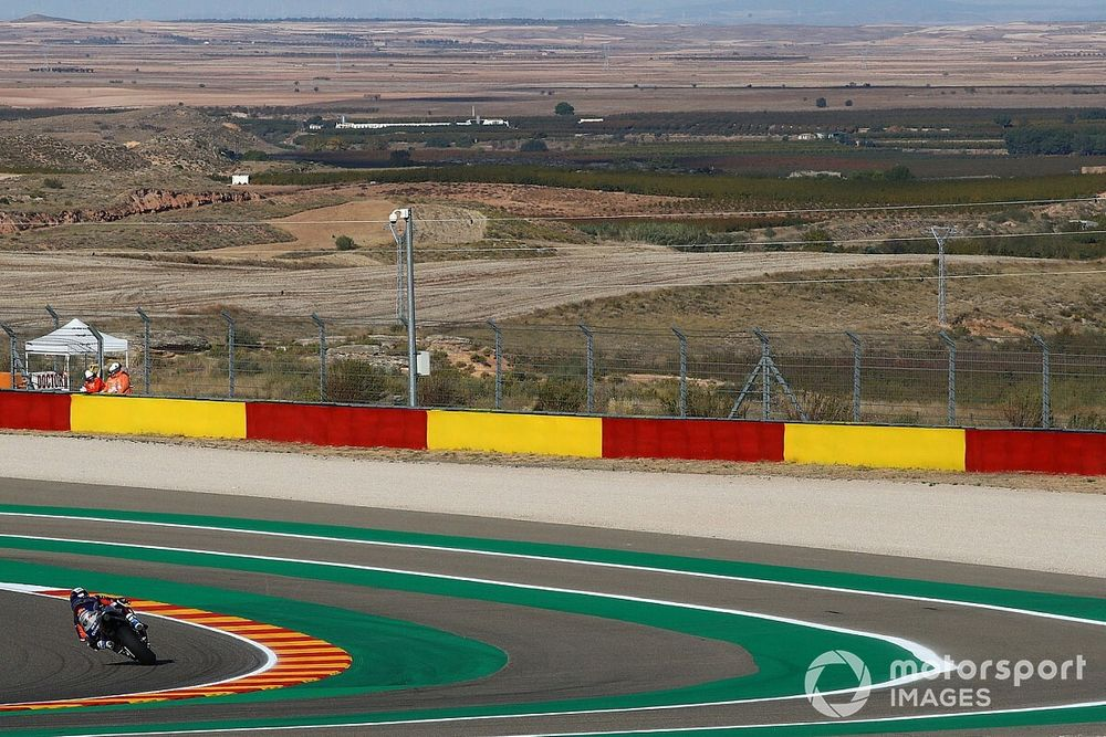 MotoGP cambia horarios para calificación y carrera en Aragón