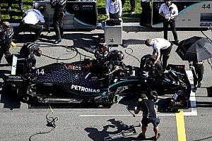 'Kleine veranderingen' bij Mercedes na positieve coronatest