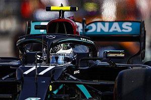 """Bottas quedó """"temblando"""" después de lograr la pole en Imola"""