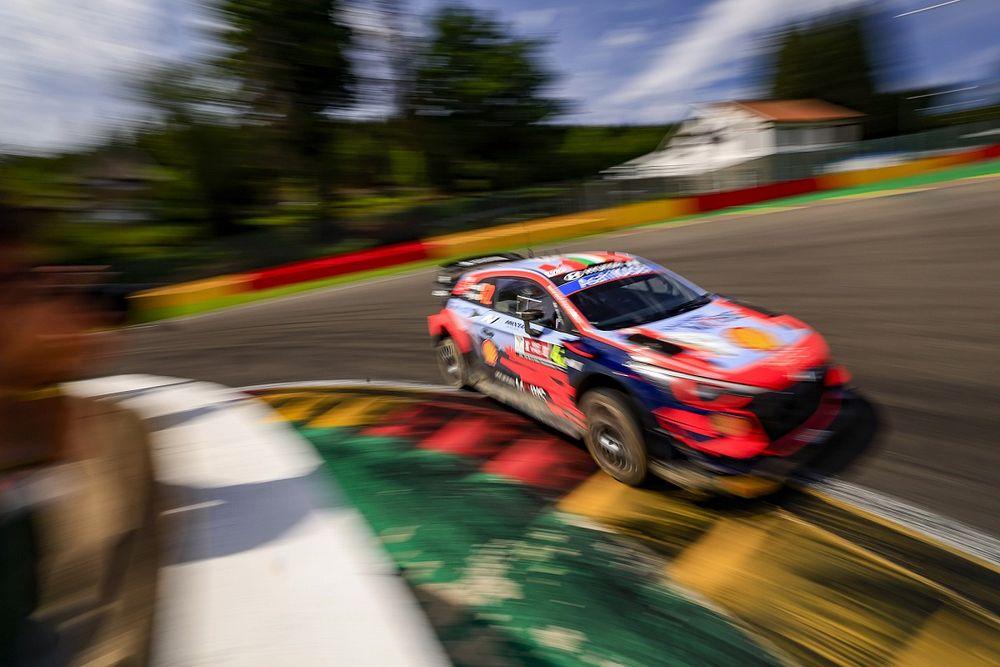 Фотогалерея: машины WRC на трассе в Спа
