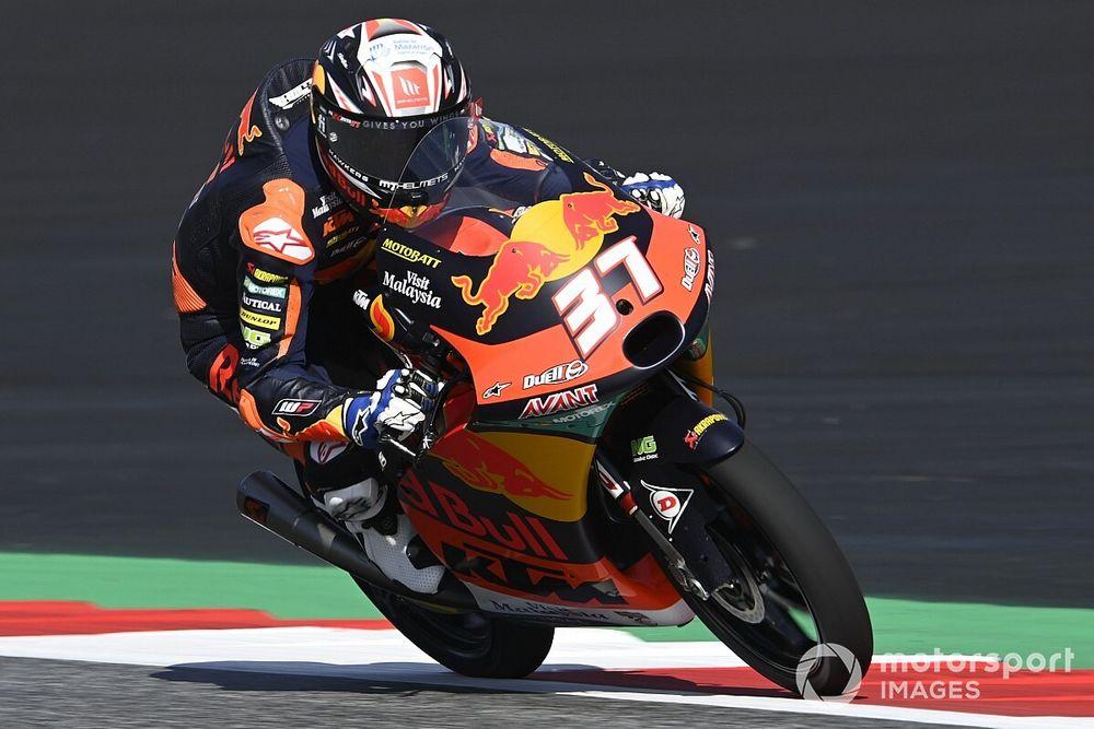 Moto3スティリア決勝:アコスタ、激闘制し今季5勝目! 日本勢は佐々木歩夢が5位で最上位