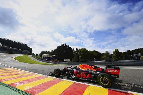 F1: Verstappen responde Mercedes, lidera TL2 na Bélgica e bate no final da sessão