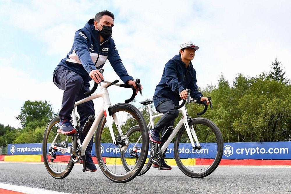 角田裕毅、初挑戦のオランダへ「新コースに適応するのは得意。でもミスで走行時間を失わないようにしたい」