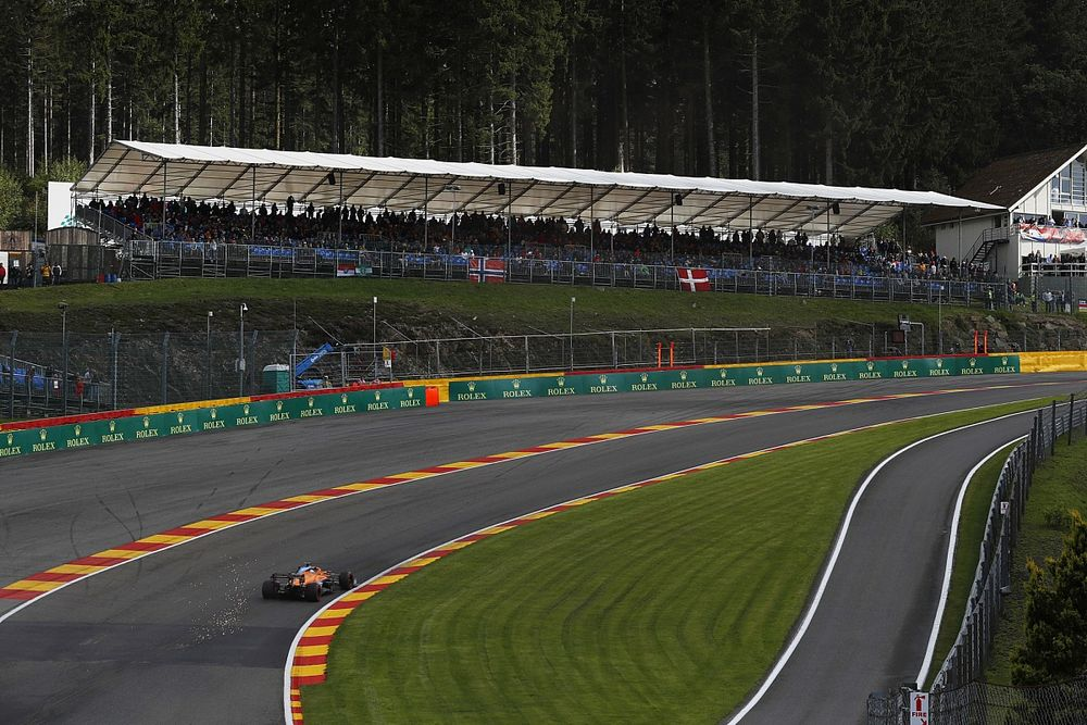 Ricciardo: Spa changes wouldn't stop Eau Rouge being 'scary and exciting'