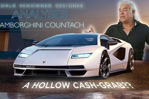 Az új Lamborghini Countach találkozik a Ferrari volt tervezőjével, mi az eredmény?