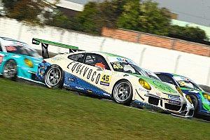 Porsche: Mauro segura Caio Castro e vence corrida 2 da GT3 Cup em Curitiba