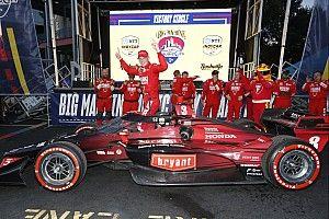 Nashville IndyCar: Ericsson survives crazy race for second win