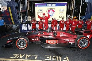 Indy: Ericsson sobrevive a 'voo' no começo e vence GP caótico em Nashville