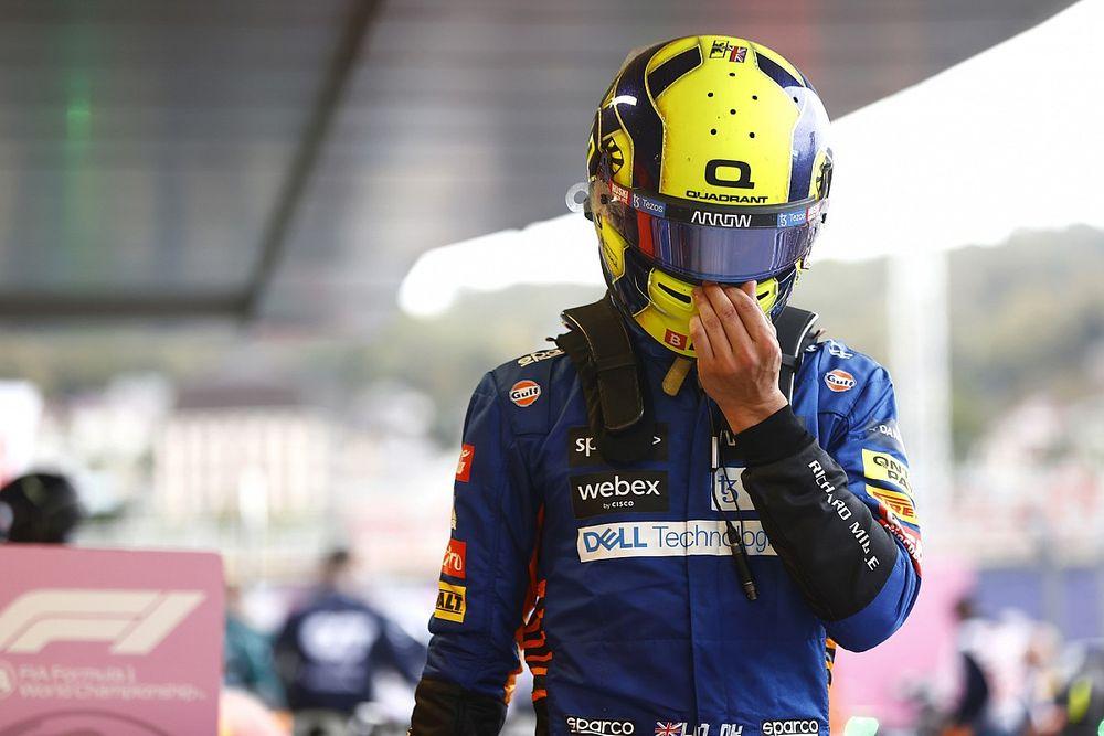 """""""心碎""""的诺里斯承认痛失F1首胜是自己的责任"""
