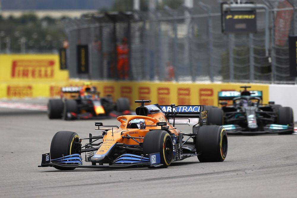 Ricciardo: Hangt van circuit af of McLaren kan strijden met topteams