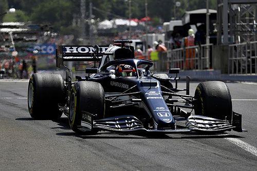 """F1デビューから5戦は""""攻めすぎた""""……角田裕毅、ミスを減らすために「ドライビングスタイルを落ち着かせる必要があった」"""