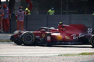 VIDEO: El fuerte accidente de Sainz en Monza