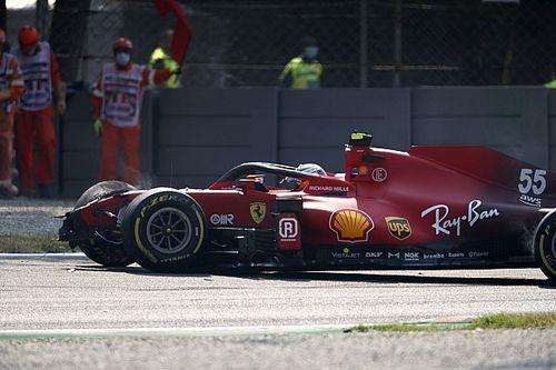"""Sainz: """"El accidente de Monza no volverá a suceder pronto"""""""
