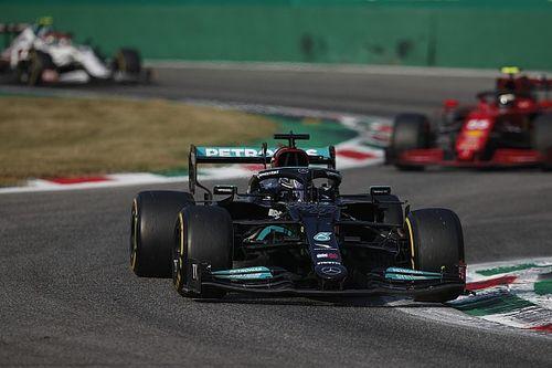 Red Bull: Hamilton tuvo menos potencia en el motor