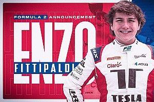 Enzo Fittipaldi é confirmado na Fórmula 2 como piloto da Charouz