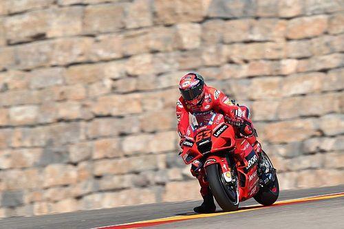 MotoGP: Bagnaia regala la 50esima pole alla Ducati ad Aragon