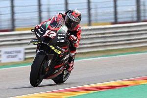 "Vinales out of ""my comfort zone"" in Aprilia MotoGP debut"