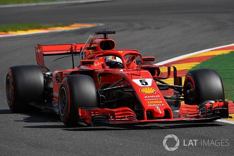 """Vettel: """"Onze snelheid voor de race ziet er goed uit"""""""