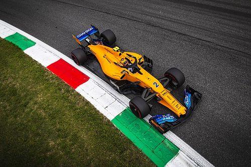 Két helyre volt a pontszerzéstől a McLaren Monzában