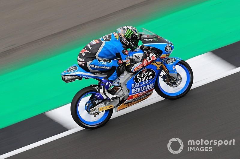 """Moto3, Valencia, Libere 2: la pioggia esalta Lopez davanti a Bezzecchi e """"Diggia"""""""