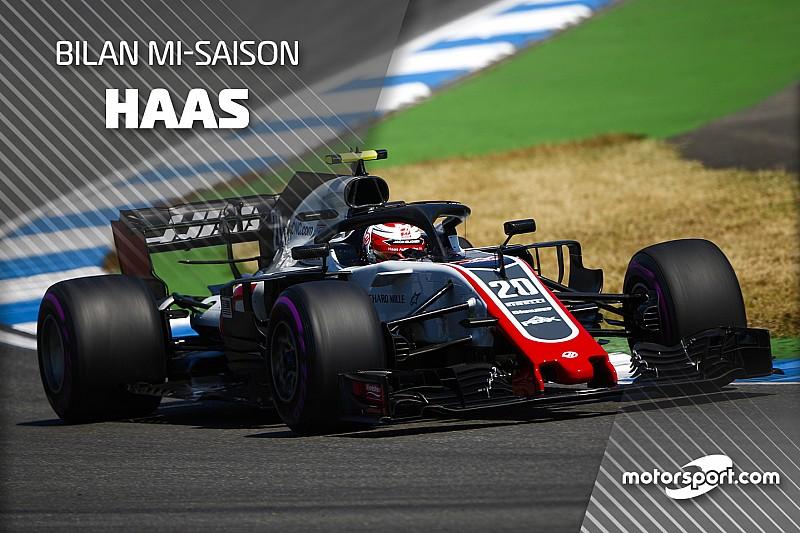 Bilan mi-saison - Haas, tellement bien que ça pourrait être mieux