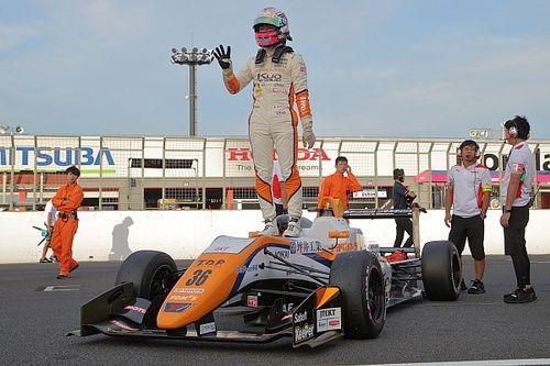 全日本F3第12戦:坪井翔がもてぎ戦3連勝、宮田莉朋に対し42点リード