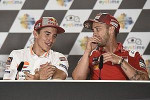 Márquez vê Dovizioso como principal rival na Áustria