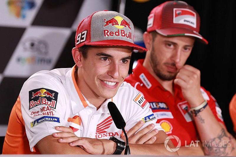 """Márquez : """"Si je dois perdre cinq points, je les perdrai"""""""