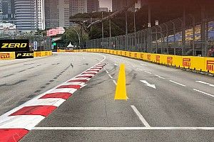 """Whiting: Singapore track limits line """"a waste of paint"""""""