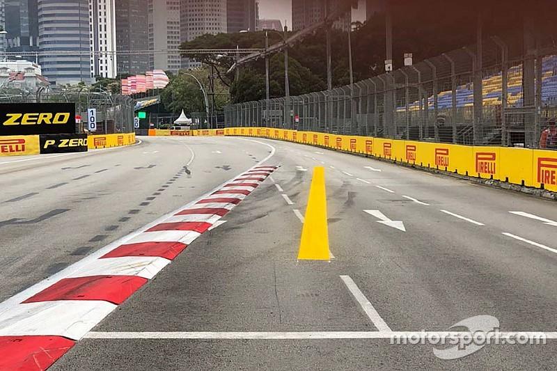 FIA усложнила гонщикам прохождение седьмого поворота в Сингапуре