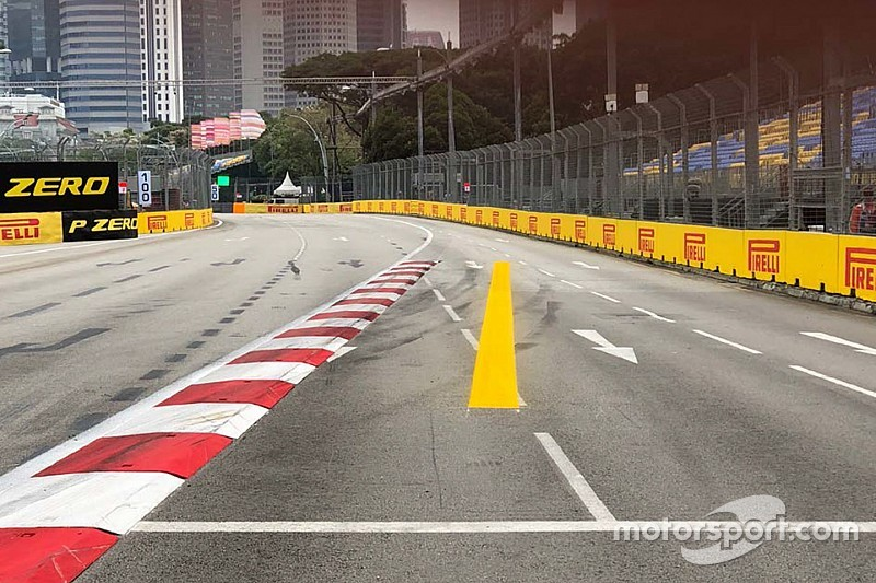 "Whiting: Singapore track limits line ""a waste of paint"""