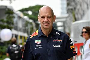 Newey kembali termotivasi di Red Bull